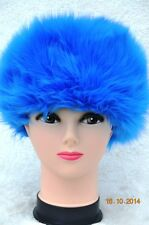 BLUE OCEAN Faux Fur Hat Top quality Russian Polish Cossack style Fluffy Ladies