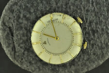 VINTAGE MENS LECOULTRE CALIBER K814 ALARM WRISTWATCH MOVEMENT FOR PARTS