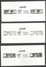 Senegal 641-44 1985 Philexafrica miniature sheet pairs/labels photographic proof