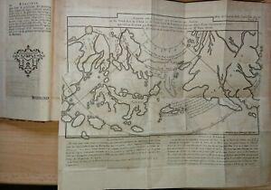 Selten Mémoires de littérature Académie Royale 1772 mit 2 Landkarten Japan China