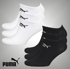 MENS PUMA CAT DESIGNER LOGO HIGH QUALITY BLACK TRAINER SOCKS 6//10UK 39//44EU
