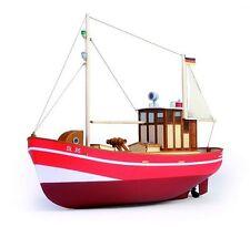 Graupner Anja sl35 Barca da pesca (g2120) RC Modello Barca Kit