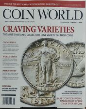Coin World May 2017 Craving Varieties The Mints Mistakes Values FREE SHIPPING sb