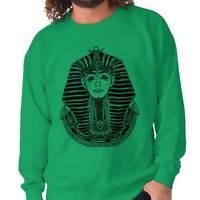 Ancient Egypt Pharaoh Scarab Symbolic Gift Crewneck Sweat Shirts Sweatshirts