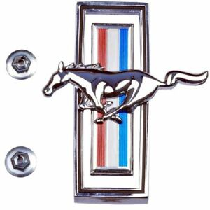 1970 Ford Mustang Grille Emblem