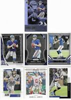2019 Daniel Jones Rookie Lot Of 7 Prizm No. 302 Score Illusions Studio ++ TI