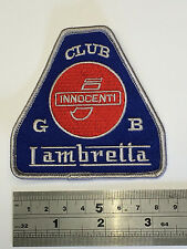 CLUB GB Lambretta Patch - Embroidered - Iron or Sew On