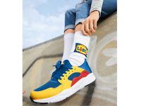 Scarpe sneackers LIDL tgl EU 41 UK 7,5 fan collection limited uomo donna + calze
