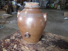 Ancien vinaigrier grès art paysan Savoie poterie ancienne french antique potery