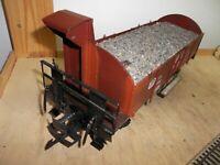 Magnus Hoehne Handworks Metall-Handarbeitsmodell Güterw. WBR 14 mit Bremserhaus