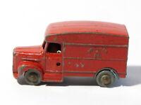 Vintage ROYAL MAIL EIIR Red Van No. 11 - Die Cast PLAY WORN