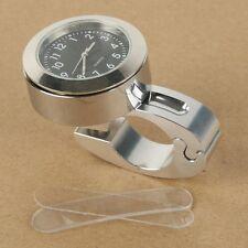 "7/8"" 1"" Handlebar Hand Bar Mount Dial Clock Watch For Honda CBR600 CR 125R 250R"
