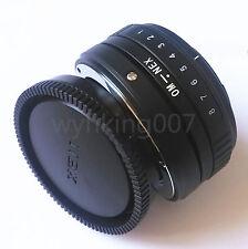 Tilt Olympus OM Lens To Sony E mount NEX Adapter NEX3 NEX5 NEX7 a6000 NEX-VG10
