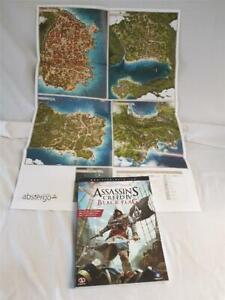 Assassin's Creed IV Black Flag The Complete Official Guide. Paperback Book & Map