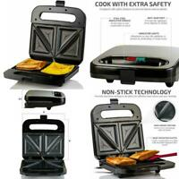 Electric Sandwich Grill Deep NonStick Surface Dual Toast Maker Panini Presses US