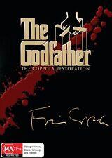 The Godfather Trilogy Box Set DVD Region 4 NEW