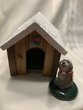 Byers' Accessory Dog House and Byers' Choice Dog. 16
