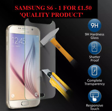 REAL TEMPERED GLASS FILM LCD SCREEN PROTECTOR FOR SAMSUNG GALAXY S6 SM-G920 -UK