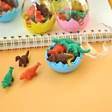 Dinosaur Eggs Eraser Creative Rubber Papelaria Gomas De Borrar School Supplies