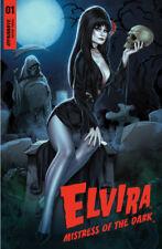 Elvira: Mistress of the Dark #1 by Elias Chatzoudis Variant LTD 500