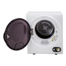 Electric Compact Dryer Stainless Steel Laundry Room Tub Home Dorm Countertop