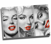 "Marilyn Monroe Vintage Pop Art Canvas Print Wall Art 30x20"" A1"