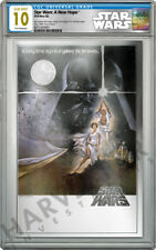 2018 STAR WARS: A NEW HOPE - PREMIUM SILVER FOIL - CGC 10 GEM MINT FIRST RELEASE