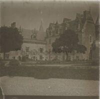 Château d'Amboise Photo R1 Stereo Verre Positive Vintage 1907