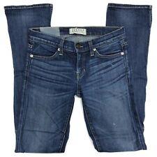 $228 TEXTILE Elizabeth & James Taylor Jeans 26 Hi Lo Hem Dark Blue Wash Indigo