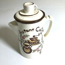 """1950's Vintage Mid Century Tilso """"Instant Coffee"""" Coffee Server Made in Japan"""