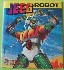 ALBUM PANINI JEEG ROBOT COMPLETO EDICOLA 1979
