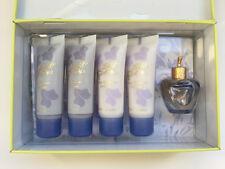 LOLITA LEMPICKA 5ml Women EDT 2 Body Lotion& 2 Shower Gel Mini Set in Tin Box