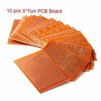10 Stück 5 x 7 cm DIY Prototyp Papier Logik-ICs PCB Universal Board Rechteck