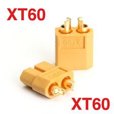 1 Paire CONNECTEUR  Prises XT60 Plug - M/F - RC LIPO - NEUF