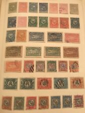 EARLY DOMINICAN REPUBLIC COLLECTION UNUSED AND USED APPROX 120 STAMPS