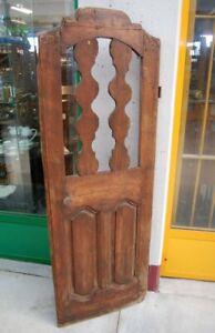 Porta rustica finestra centinata Luigi XV provenzale '700 h 167 cm