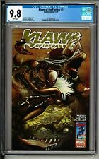 RARE Klaws of the Panther #1 (2010) CGC 9.8 White! 1st Solo Shuri Black Panther!