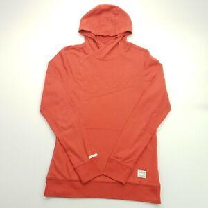 G-Star Raw Mens  Hoodie Jumper Pullover MEDIUM Red Hooded Pockets Cotton