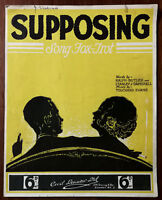 Supposing, Song Fox-Trot by Ralph Butler, Stanley J. Damarell –  Pub. 1936