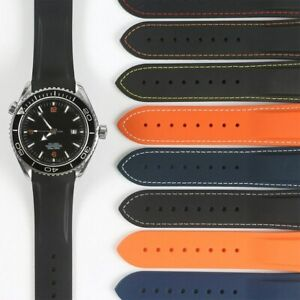 Watchband Strap For Omega AT150, Seamaster 300, Planet Ocean 8900 + Tools/Pins