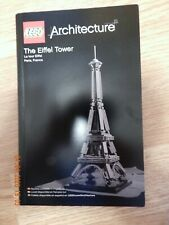 Lego Architecture The Eiffel Tower 21019 INSTRUCTIONS BOOK ONLY