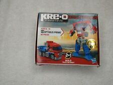 KRE-O TRANSFORMERS OPTIMUS PRIME CONSTRUCTION BASIC SET ACTION FIGURE 90 PIECES