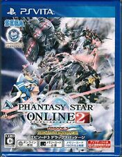 PS Vita Phantasy Star Online 2 Episode 3 Deluxe Package w/ DLC for PSO2 PC JAPAN