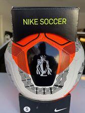 Nike English Premier League Soccer Pitch Ball Size 5 Orange