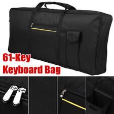 More details for portable 61-key keyboard carry bag electronic piano cover padded case gig bag uk