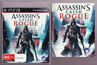 LIKE NEW Assassins Creed Rogue WITH MANUAL BOOKLET PS3 Playstation 3 Game