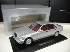 Mercedes S320 silver W140 Norev Dealer Edition 1:18 NEW REE SHIPPING