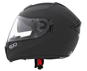 Caberg Ego Matt Black Motorcycle Helmet with Integral Sun Visor