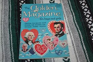 The Golden Magazine for boys and girls Vol.4 No.2 1967