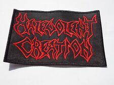 MALEVOLENT CREATION DEATH METAL EMBROIDERED PATCH